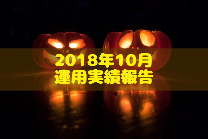 2018年10月運用実績報告