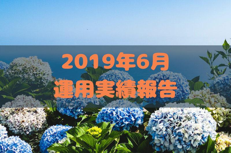 2019年6月運用実績報告