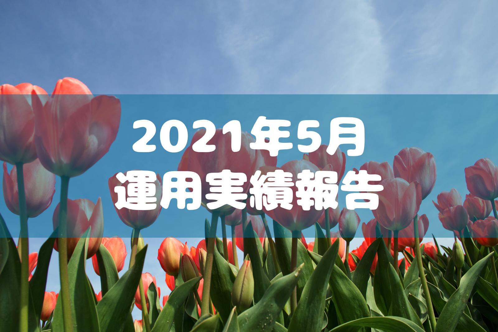 2021年5月運用実績報告